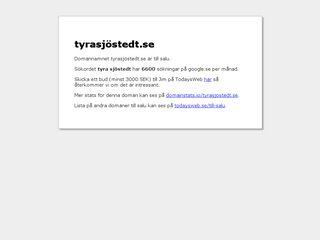 tyrasjöstedt.se