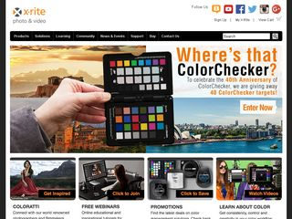 Preview of xritephoto.com