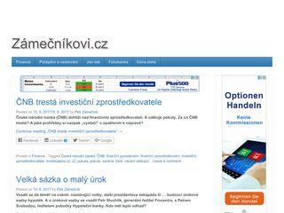 zamecnikovi.cz