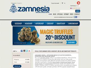 Preview of zamnesia.com
