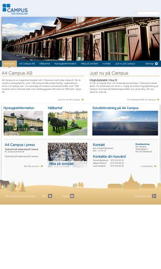 Mobile preview of a4campus.se