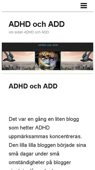 Mobile preview of adhdochadd.n.nu