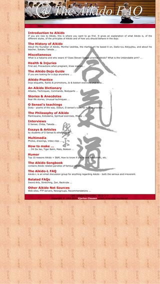 Mobile preview of aikidofaq.com