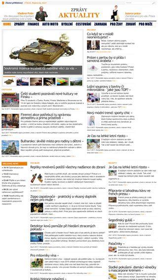 Mobile preview of aktualitycz.cz
