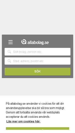 Mobile preview of allabolag.se