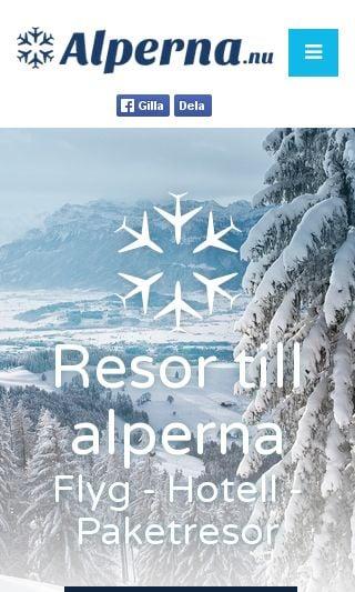 Mobile preview of alperna.nu