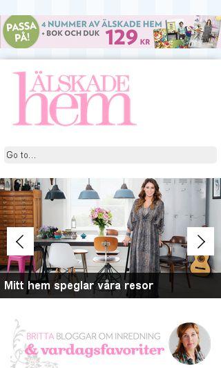 Mobile preview of alskadehem.se