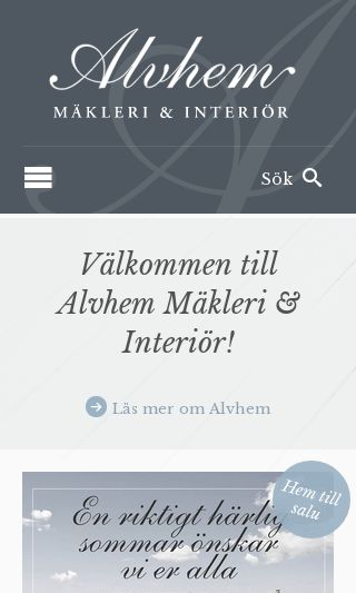 Mobile preview of alvhemmakleri.se