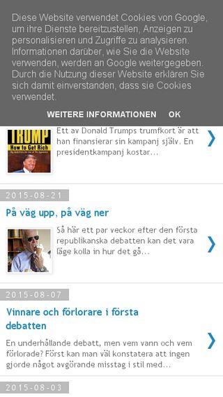 Mobile preview of amerikanskpolitik.se