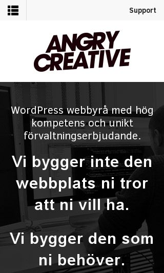 Mobile preview of angrycreative.se