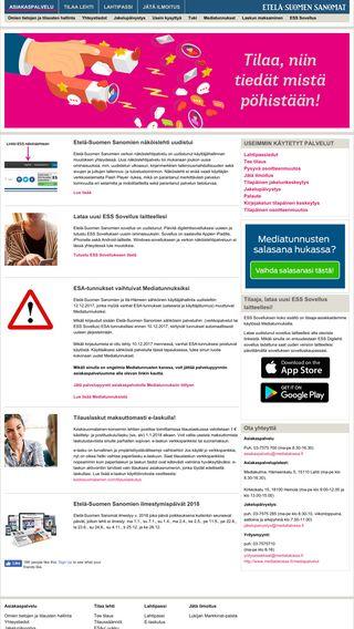 Mobile preview of asiakaspalvelu.ess.fi