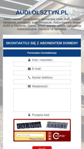 Mobile preview of audi.olsztyn.pl