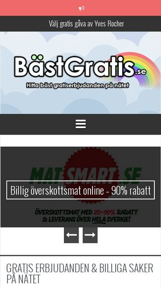 Mobile preview of bastgratis.se