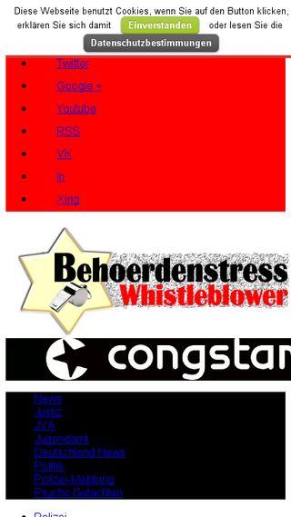 Mobile preview of behoerdenstress.de