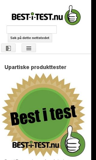 Mobile preview of best-i-test.nu