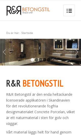 Mobile preview of betongstil.se