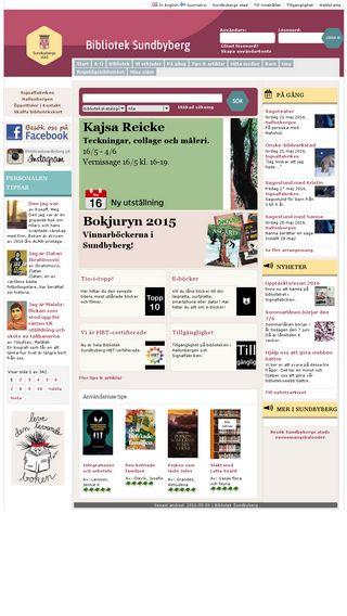 Mobile preview of bibliotek.sundbyberg.se