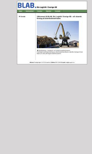 Mobile preview of biologistik.se
