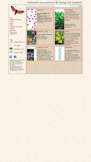 Mobile preview of bioresurs.uu.se