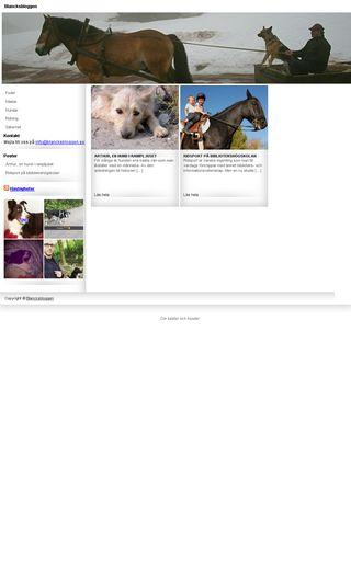 Mobile preview of blancksbloggen.se