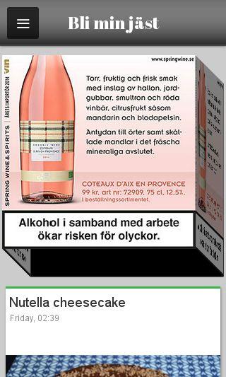 Mobile preview of bliminjast.se