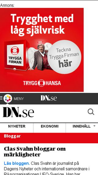 Mobile preview of blogg.dn.se