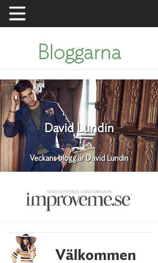 Mobile preview of blogg.improveme.se