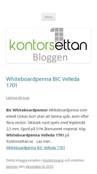Mobile preview of blogg.kontorsettan.se