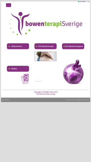 Mobile preview of bowenterapi.se