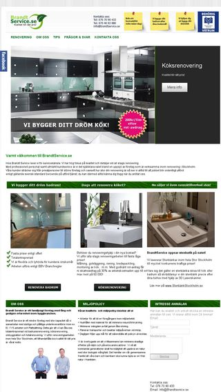 Mobile preview of brandtservice.se