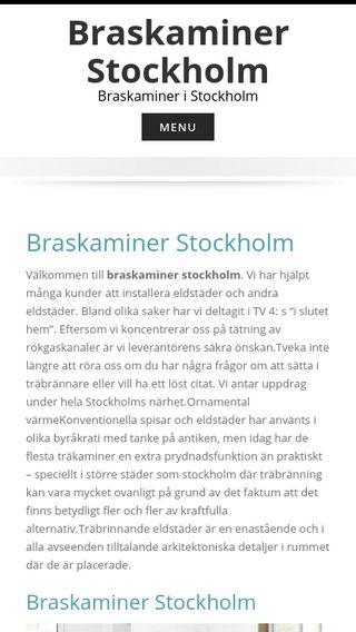 Mobile preview of braskaminerstockholm.info
