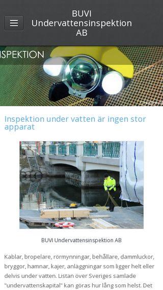 Mobile preview of buvi.se