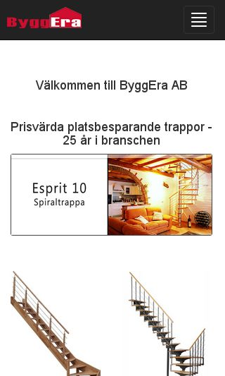 Mobile preview of byggera.se
