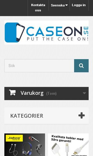 Mobile preview of caseon.se