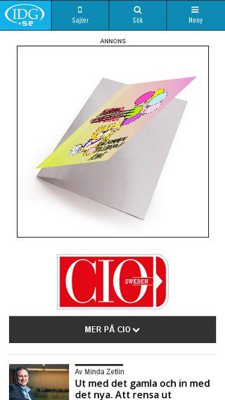 Mobile preview of cio.idg.se