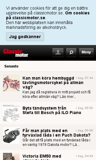Mobile preview of classicmotor.se