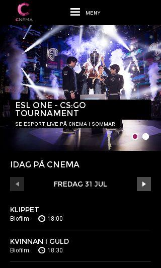 Mobile preview of cnema.se