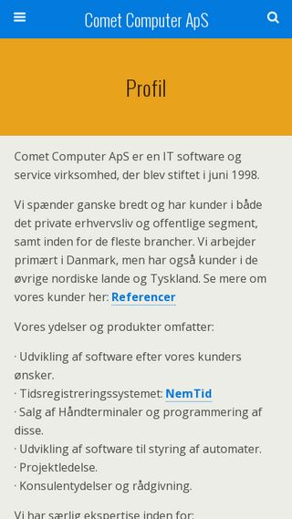 Mobile preview of cometcomputer.dk
