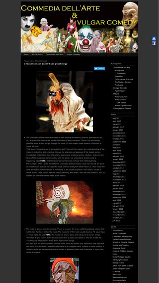Mobile preview of commedia.klingvall.com
