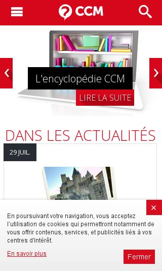 Mobile preview of commentcamarche.net