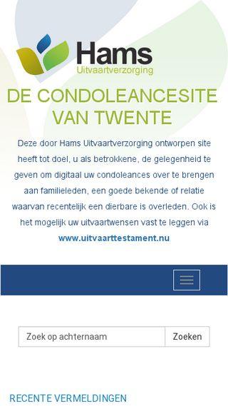 Mobile preview of condoleren.nu
