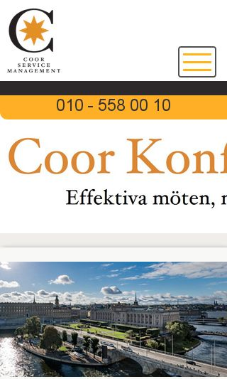 Mobile preview of coorkonferens.se