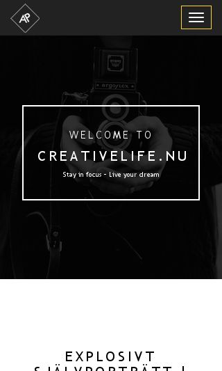 Mobile preview of creativelife.nu