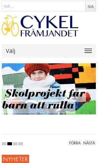Mobile preview of cykelframjandet.se