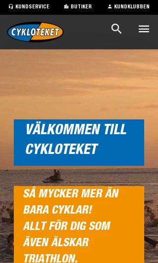Mobile preview of cykloteket.se