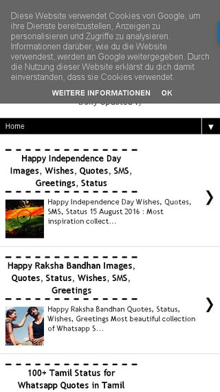 Mobile preview of dailysmscollection.in