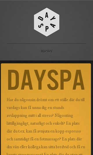 Mobile preview of dayspa.se