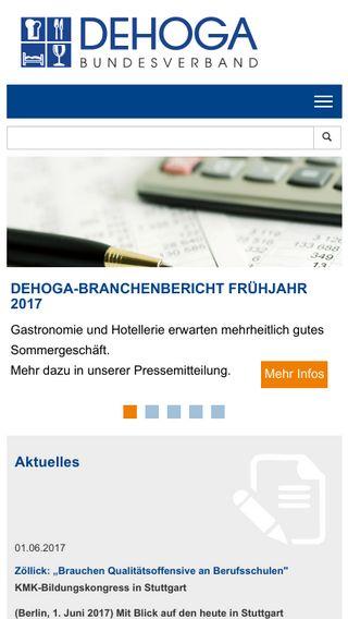 Mobile preview of dehoga-bundesverband.de