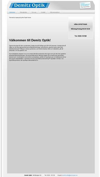 Mobile preview of demitzoptik.se