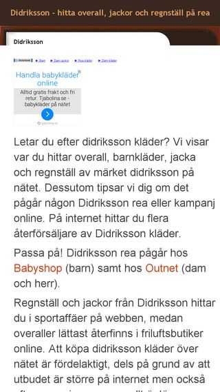 Mobile preview of didriksson.n.nu